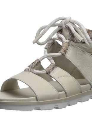 Кожаные босоножки сандали sorel 43р оригинал