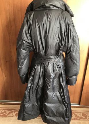 Стильное пальто-пуховик2 фото
