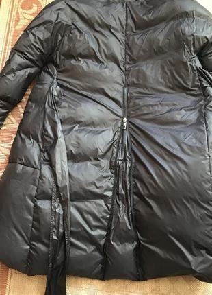 Стильное пальто-пуховик3 фото