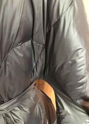 Стильное пальто-пуховик5 фото