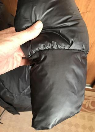 Стильное пальто-пуховик6 фото