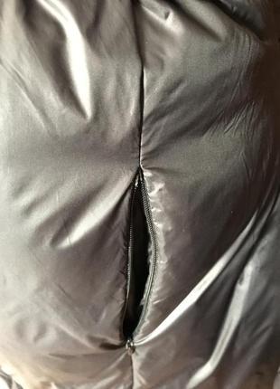 Стильное пальто-пуховик8 фото