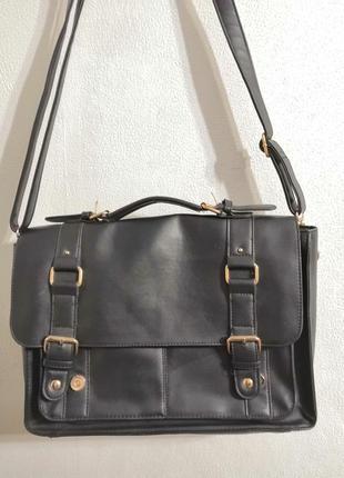 Винтажная  сумка-портфель accessorize.