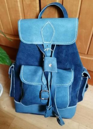 Акция 🌷кожаный рюкзак из натуральной кожи верблюда, египет