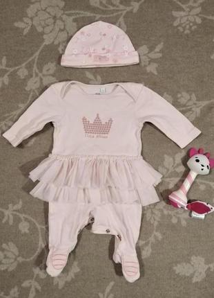 Настоящий наряд для новорожденной принцессы