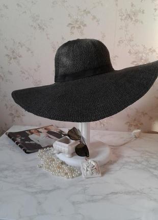 Летняя шляпа с большими полями divided h&m