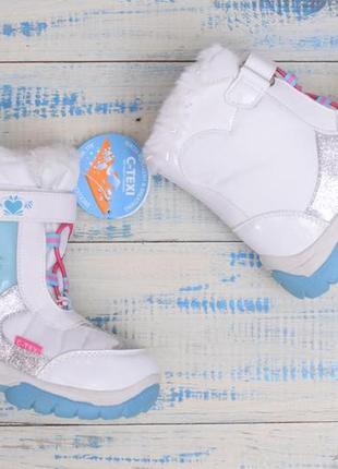 Термо ботинки для девочки дисней фроузен4 фото