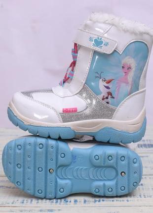Термо ботинки для девочки дисней фроузен3 фото