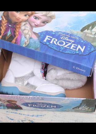 Термо ботинки для девочки дисней фроузен1 фото