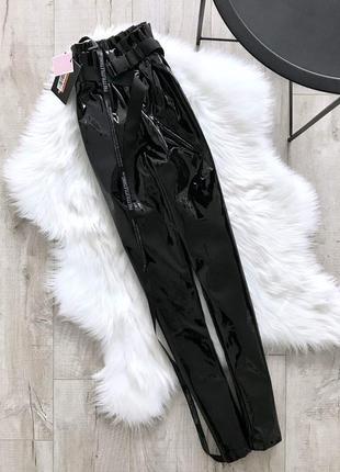 Вінілові плотні штани