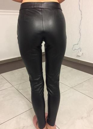 Штаны кожзам