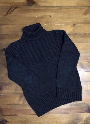 Мужской вязанный свитер м бу идеал / чоловічий светр кофта