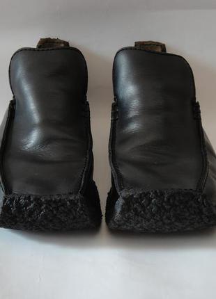 Ботинки кожаные clarks англия
