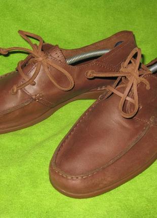 Туфли rockport,р.45-46 кожа