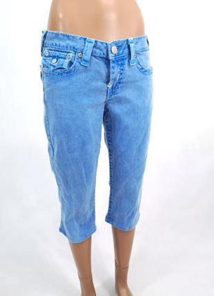 Шорты джинсовые, винтажные true religion, made in usa