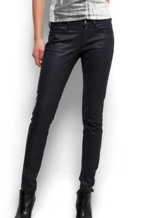 Брендовые брюки с пропиткой под кожу