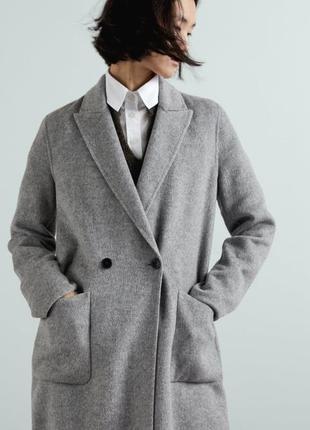Стильне пальто оверсайз від  zara