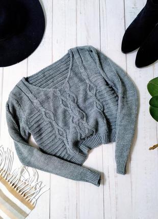 Не сток !!! укороченый свитер. италия. ✨
