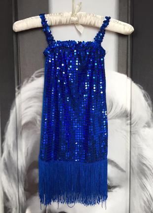 Платье для выступлений на 4/5 лет бальные танцы