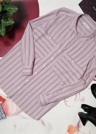 Рубашка next, вискоза, размер 14/42, коллекция 2018 года