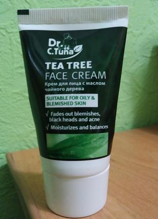 Крем для лица dr. c. tuna с маслом чайного дерева