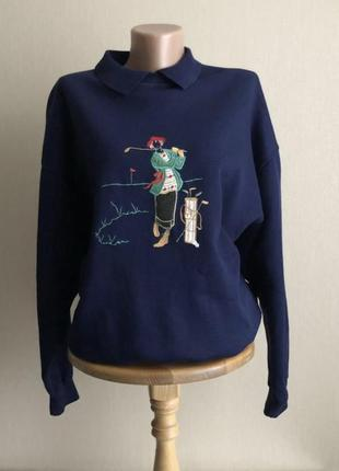 Классный свитер толстовка на флисе