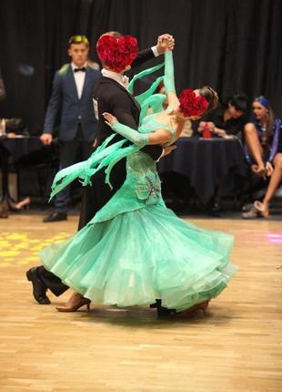 Платье для бальних танцев, стандарт. рост 165-175 см