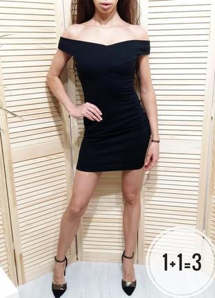 Miss selfridge маленькое черное платье xs в обтяжку по фигуре мини короткое вечернее