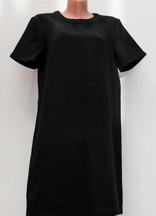 Милое черное платье mango