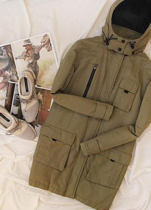 Парка на флисе+подарок платье-свитер/спортивная куртка