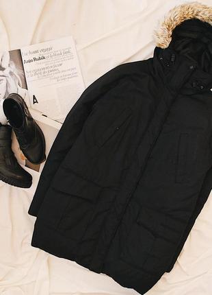 Everest пух+перо/ супер теплая зимняя парка/пуховик/пальто на пуху