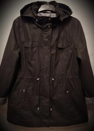 Куртка, ветровка, 46-48-50, хлопок, полиэстер, bonmarche, франция