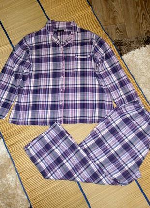 Пижама теплая женская xl-xxl