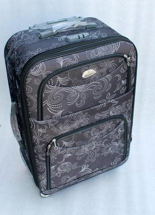 Чемодан, валіза, дорожный чемодан, тканевый, большой чемодан