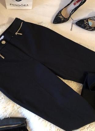 Стильные и мега крутые плотные стрейчевые брюки со стрелами и разрезами по бокам...💋🌹👠