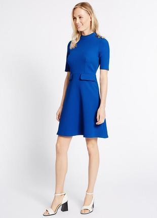 M&s удобное повседневное платье из плотной ткани, р.16-44, наш 50-й