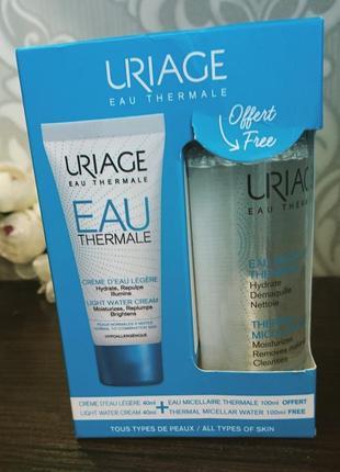 Супер набор из крема и мицеллярной водички uriage eau thermale