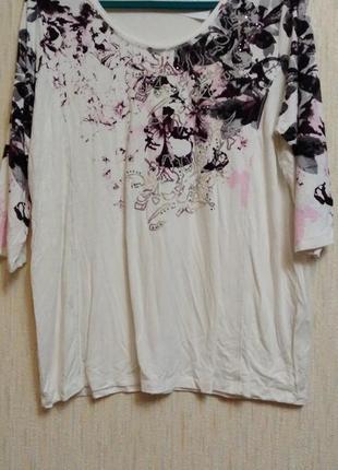 Блузка с 3/4 рукава р ххl