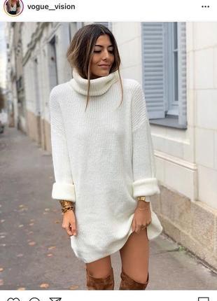 Платье-свитер.s.oliver