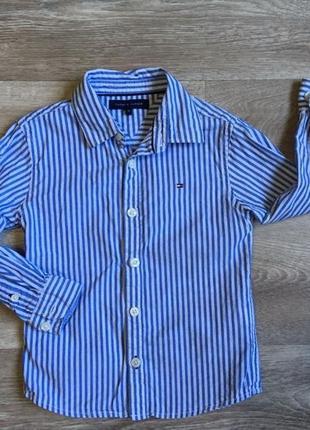 Рубашка tommy hilfiger 2-3 года