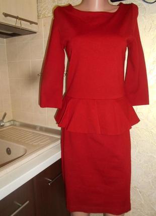 #hallhuber#турция #красивое утягивающее платье с баской #платье по фигуре #