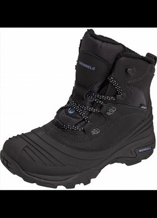 Ботинки merrell snowbound mid waterproof 40,5-41рр. зимние