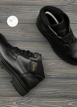Кожаные ботинки ellesse оригинал!