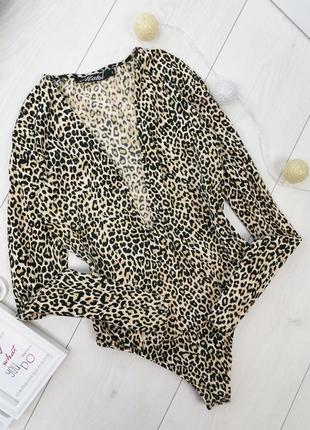 Леопардовый боди