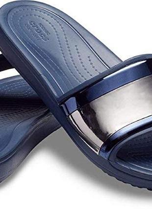 Шлепанцы, слайды крокс crocs sloane, 40