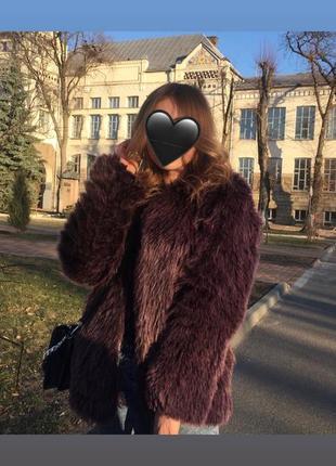 Шуба next zara bershka stradivarius mango