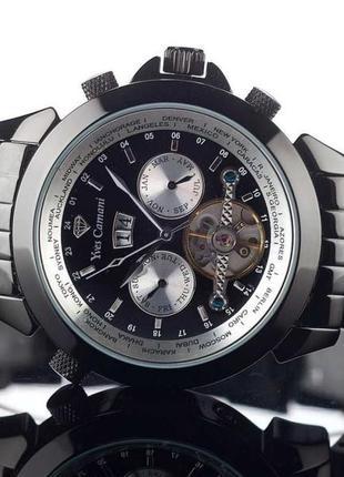 Механические наручные часы из германии , yves camani navigator worldtimer .