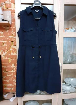 Милое платье рубашка большого размера