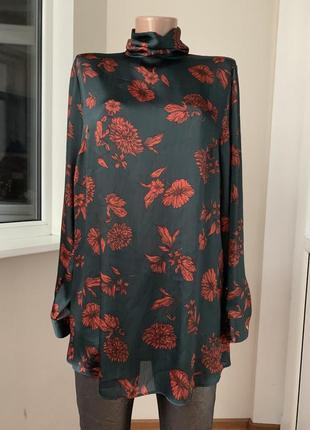 Красивая удлинённая блуза