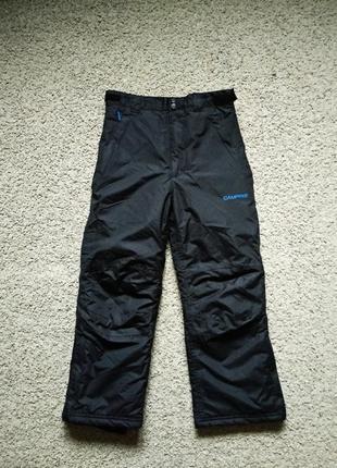 Зимние лыжные теплые штаны брюки campri размер 128-134